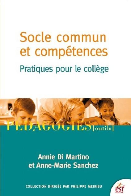 Socle commun et compétences - Pratiques pour le collège