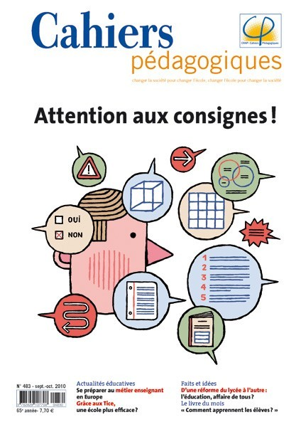 Attention aux consignes !