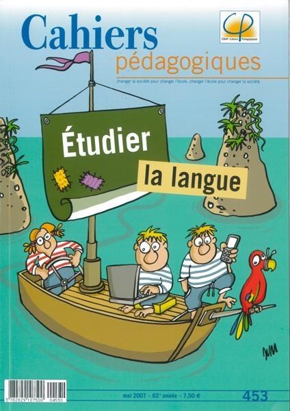 Étudier la langue