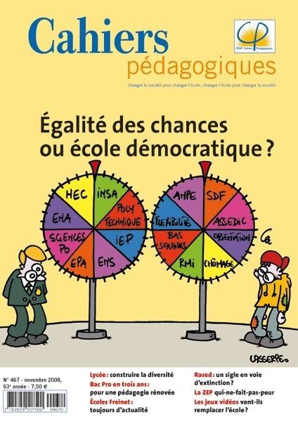 Egalité des chances ou école démocratique ?