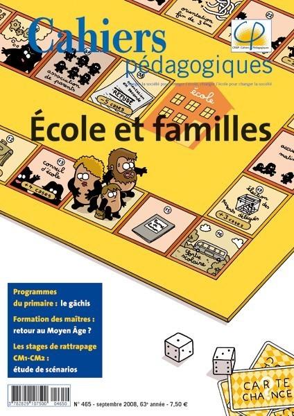 Ecole et familles