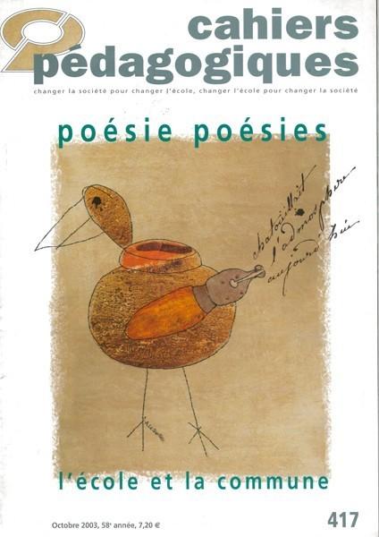 Poésie, poésies