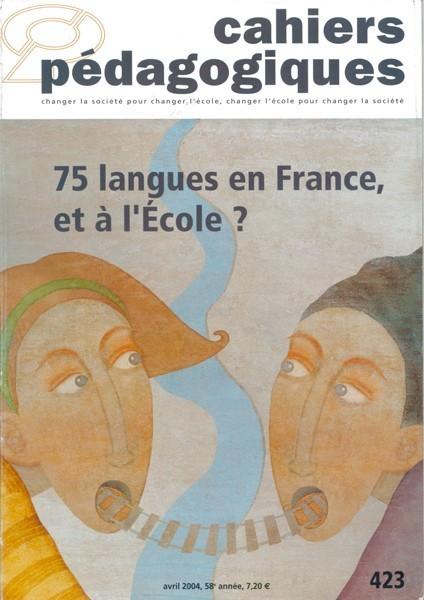 75 langues en France, et à l'école ?
