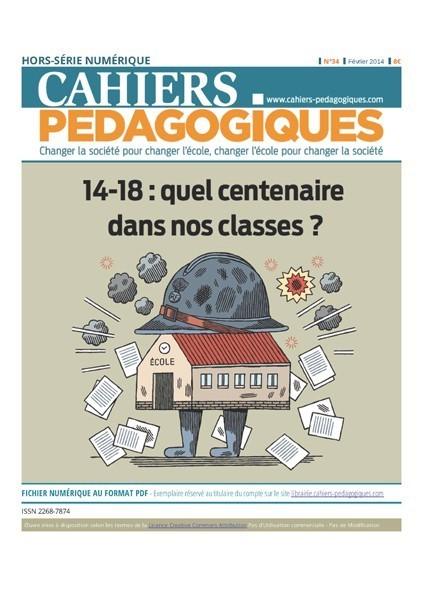 14-18 : quel centenaire dans nos classes ?