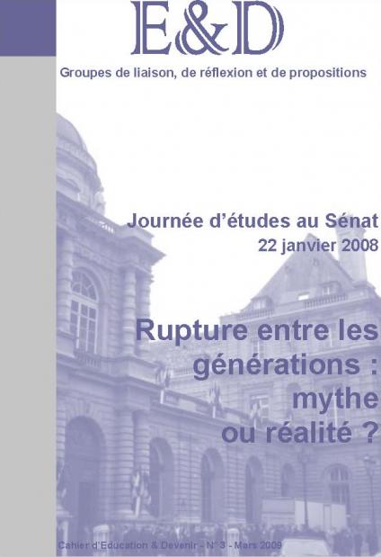 Rupture entre les générations : mythe ou réalité ?