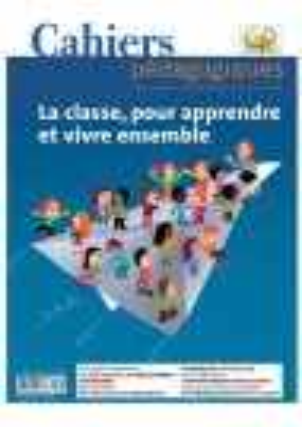 La classe, pour apprendre et vivre ensemble