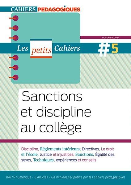 Sanctions et discipline au collège
