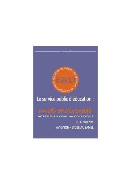Le service public d'éducation, unité́ et diversité́