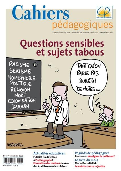 Questions sensibles et sujets tabous