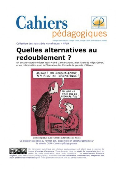 Quelles alternatives au redoublement?