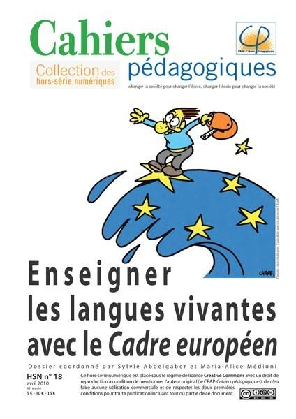 Enseigner les langues vivantes avec le Cadre européen