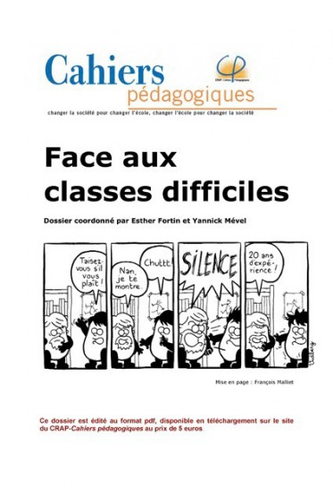 Face aux classes difficiles