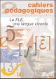 Le FLE, une langue vivante