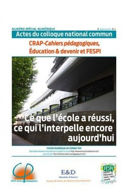 Actes du colloque national commun