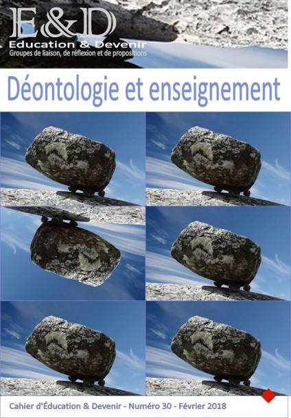 Déontologie et enseignement